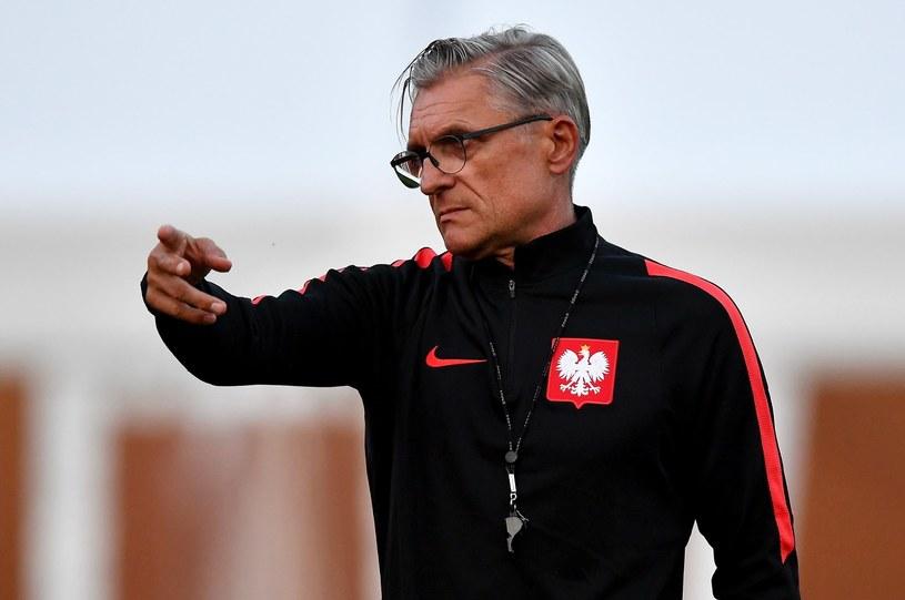Selekcjoner piłkarskiej reprezentacji Polski Adam Nawałka /Bartłomiej  Zborowski /PAP