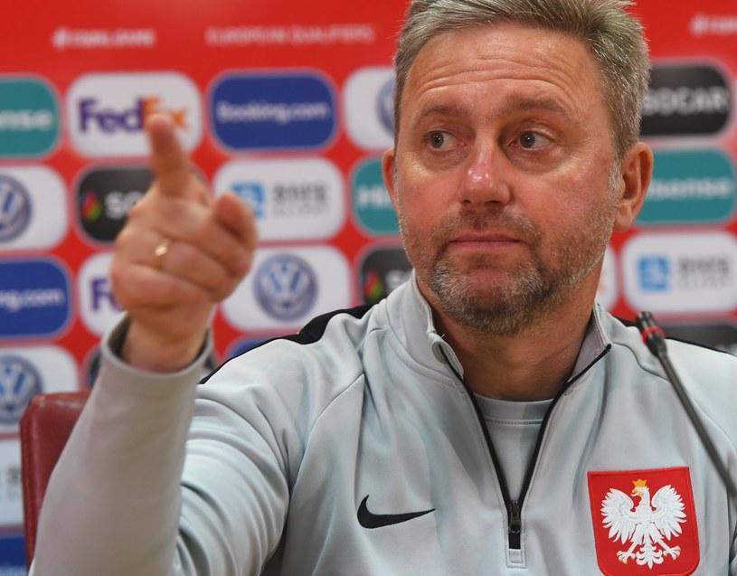 Selekcjoner piłkarskiej reprezentacji Polski Jerzy Brzęczek /PAP/EPA