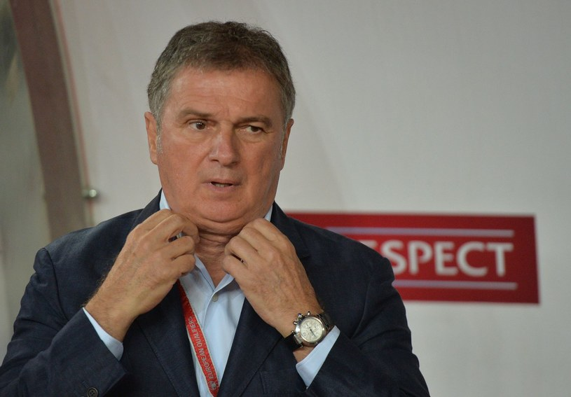 Selekcjoner reprezentacji Czarnogóry Ljubisza Tumbaković /AFP