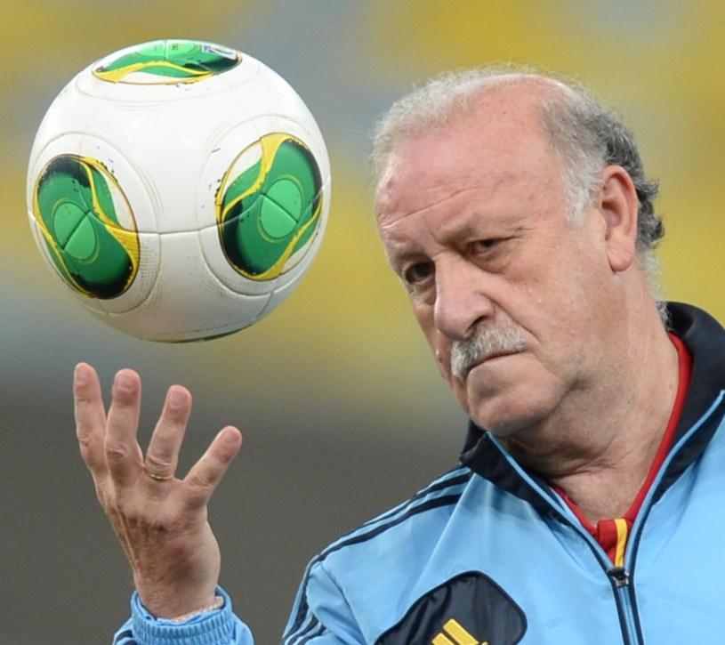 Selekcjoner reprezentacji Hiszpanii Vicente del Bosque /AFP