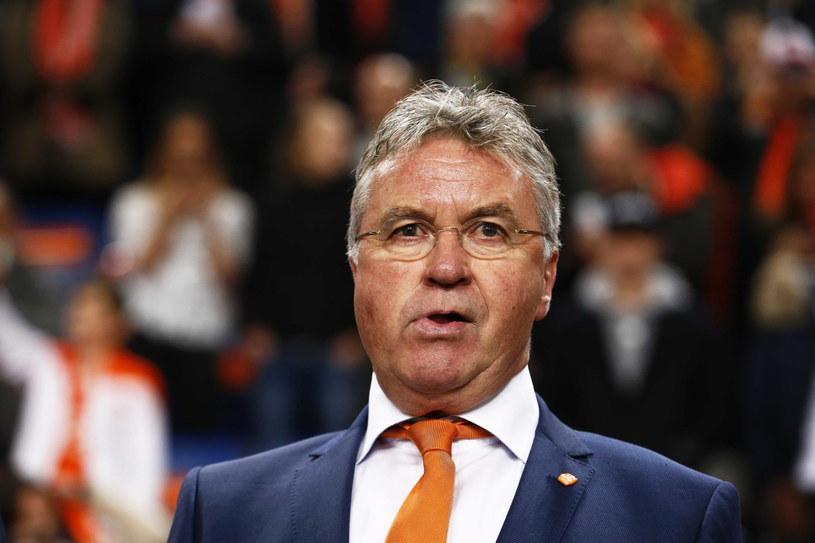 Selekcjoner reprezentacji Holandii Guus Hiddink /PAP/EPA