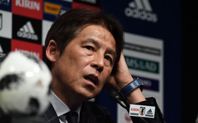 Selekcjoner reprezentacji Japonii Akira Nishino /AFP