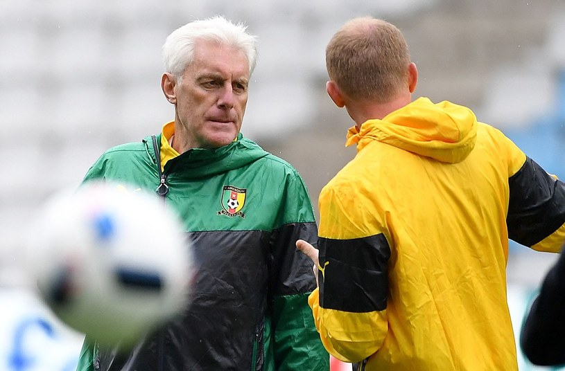 Selekcjoner reprezentacji Kamerunu - Hugo Broos /AFP