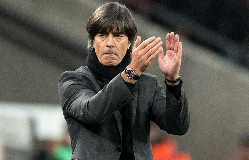 Selekcjoner reprezentacji Niemiec Joachim Loew /AFP