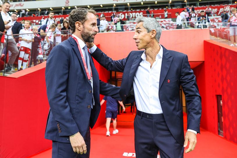 Selekcjonerzy: Gareth Southgate i Paulo Sousa. /Newspix