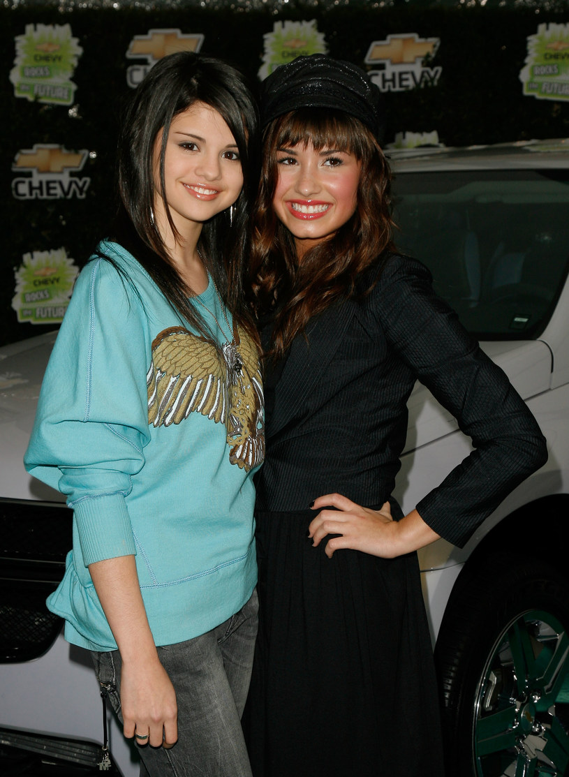 Selena Gomez i Demi Lovato w 2008 roku /Mark Davis /Getty Images