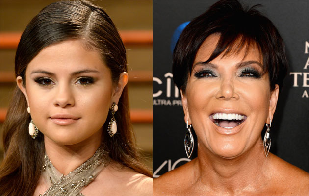 Selena Gomez i Kris Jenner /Pascal le Segretain, Mark Davis /Getty Images