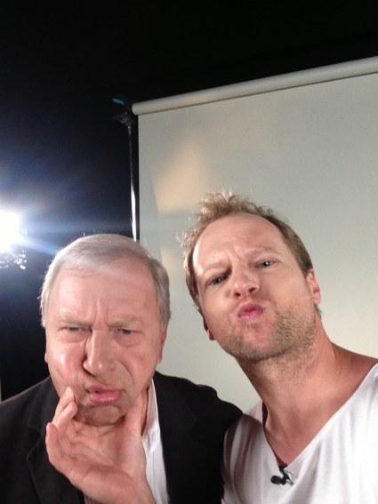 Selfie Macieja i Jerzego Stuhrów /archiwum prywatne