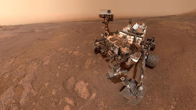 Selfie wykonane przez łazik Curiosity 15 stycznia 2019 roku /NASA/JPL-Caltech/MSSS /Materiały prasowe