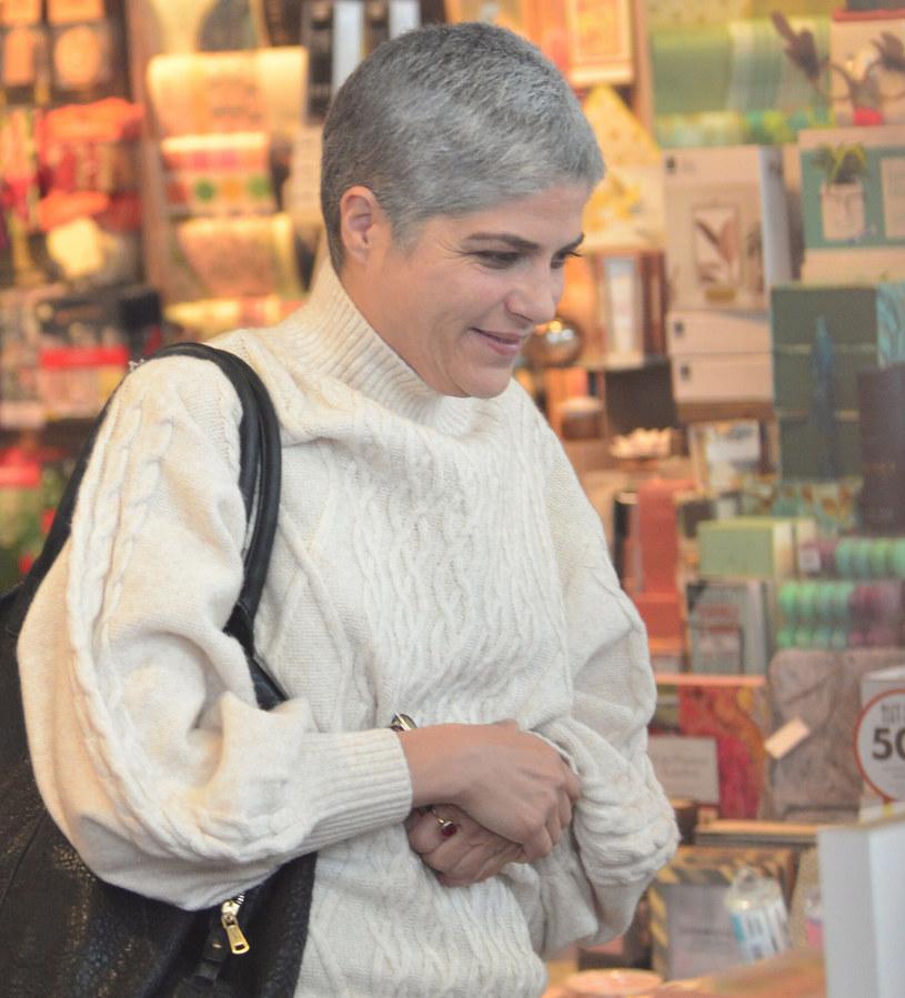 Selma Blair podczas świątecznych zakupów w 2019 roku /London Entertainment /East News