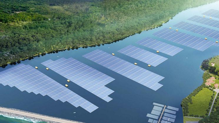 Sembcorp buduje pływające elektrownie fotowoltaiczne /materiały prasowe