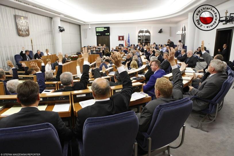 Senat bywa maszynką do głosowania - potwierdza ekspert /Stefan Maszewski /Reporter