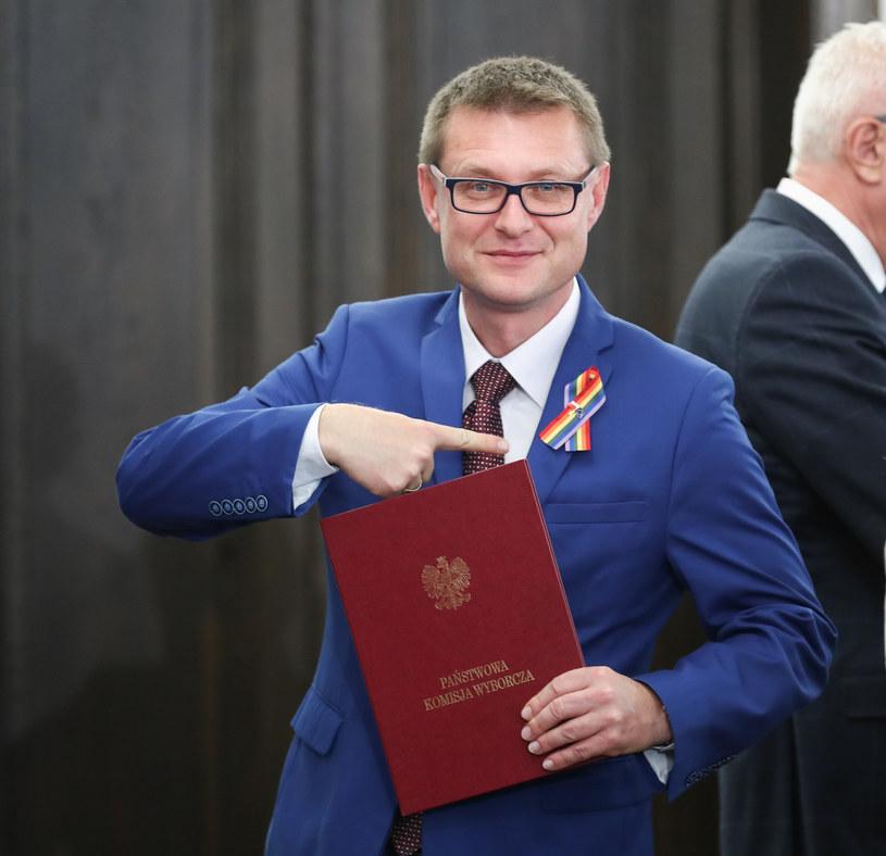 Senator Artur Dunin /fot. Andrzej Iwanczuk/REPORTER /Reporter