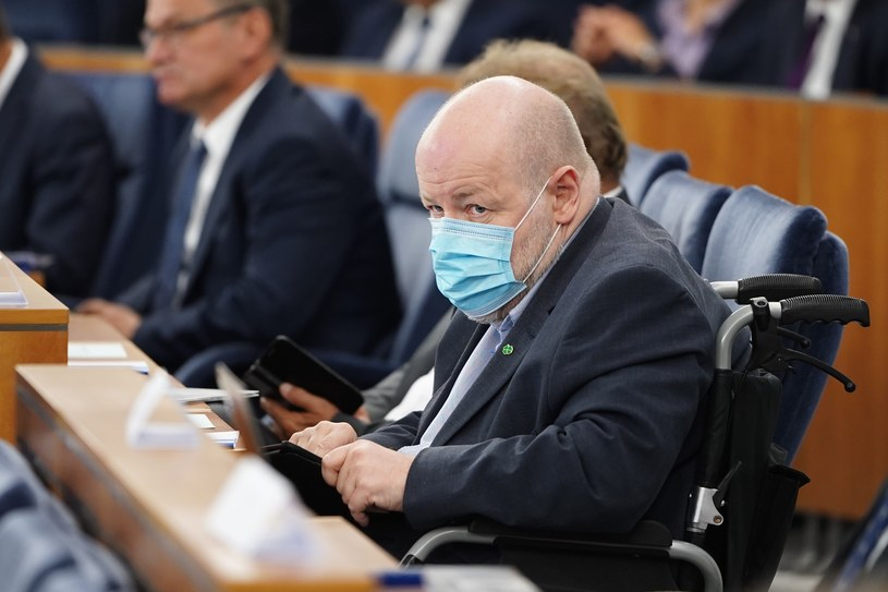 Senator Jan Filip Libicki /Mateusz Wlodarczyk /Agencja FORUM