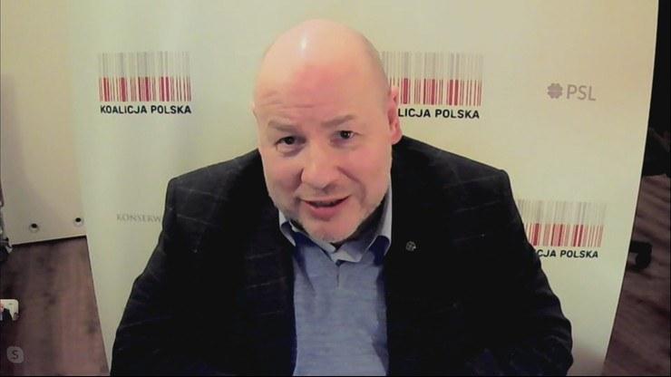 Senator Jan Filip Libicki /Polsat News