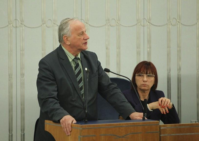 Senator Jan Rulewski /STANISLAW KOWALCZUK /East News