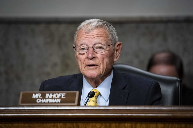 Senator Jim Inhofe /AFP