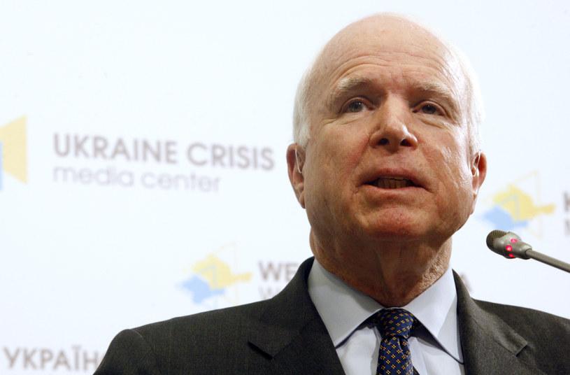 Senator John McCain /AFP