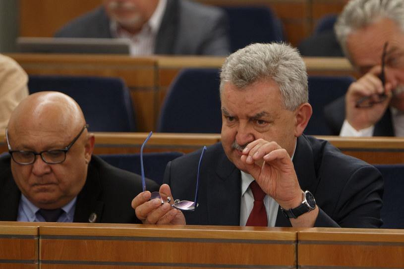 Senator Kazimierz Kleina, KO (z prawej) / Krystian Maj /Agencja FORUM