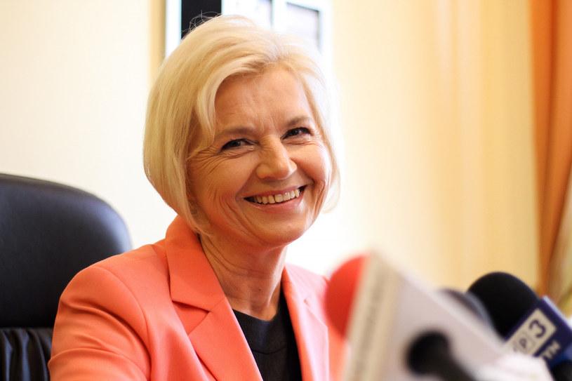 Senator Lidia Staroń /Artur Szczepanski/REPORTER /Reporter