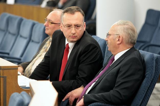 Senator Paweł Klimowicz (w środku) / fot. L. Szymański /PAP