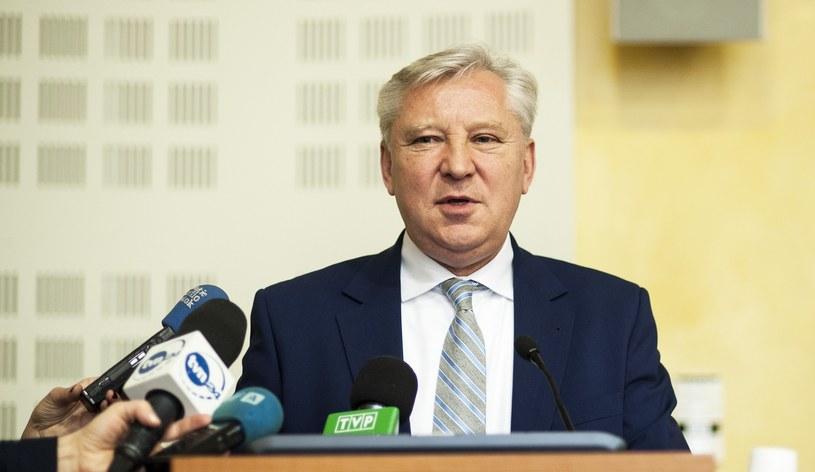 Senator PiS Jan Dobrzyński /Michał Kość /Reporter