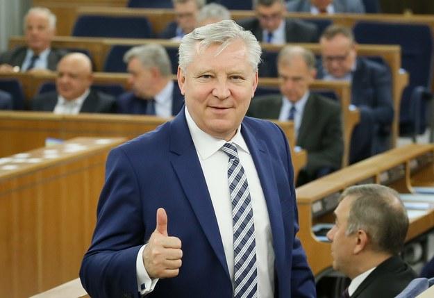 Senator PiS Jan Dobrzyński /Paweł Supernak /PAP