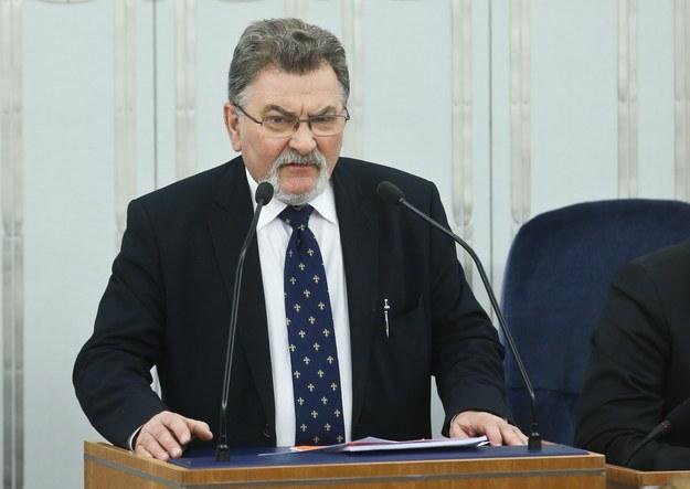 Senator PiS Zbigniew Cichoń /Rafał Guz /PAP