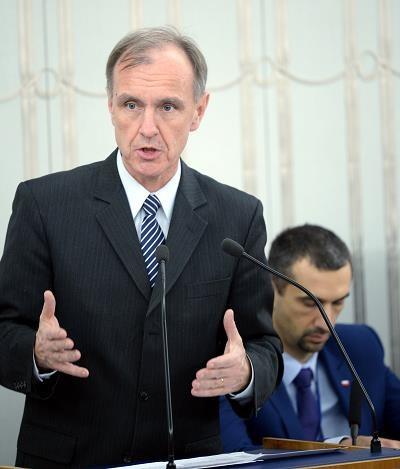 Senator PO Bogdan Klich (L) /PAP
