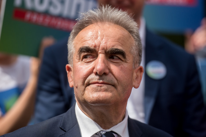 Senator Ryszard Bober /Lukasz Piecyk/REPORTER /Reporter