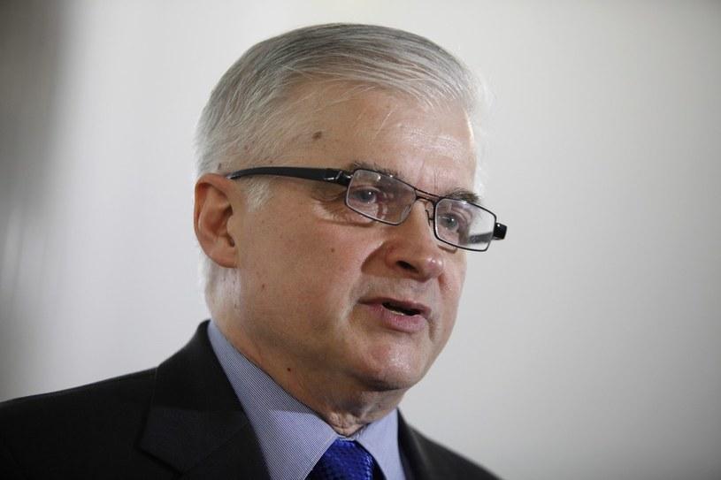 Senator Włodzimierz Cimoszewicz /Stefan Maszewski /East News