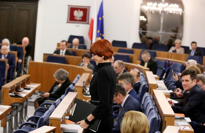 """Senatorowie o programie """"Rodzina 500 plus"""" /Tomasz Gzell /PAP"""