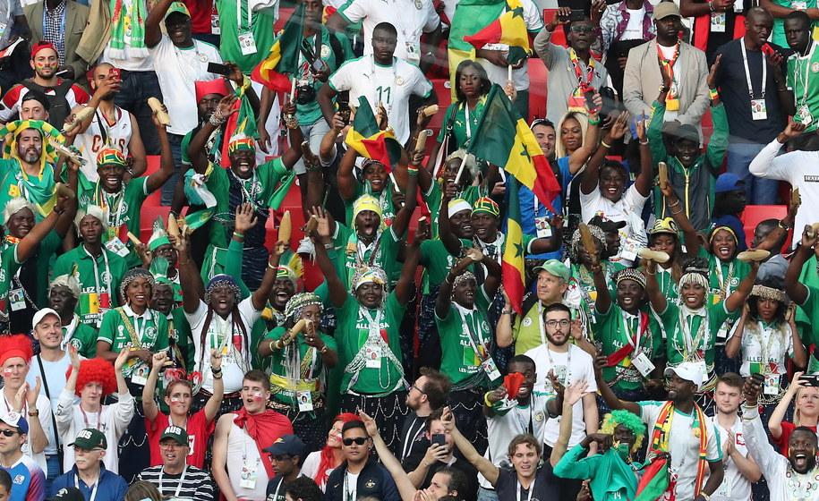 Senegalscy kibice /Abedin Taherkenareh   /PAP/EPA