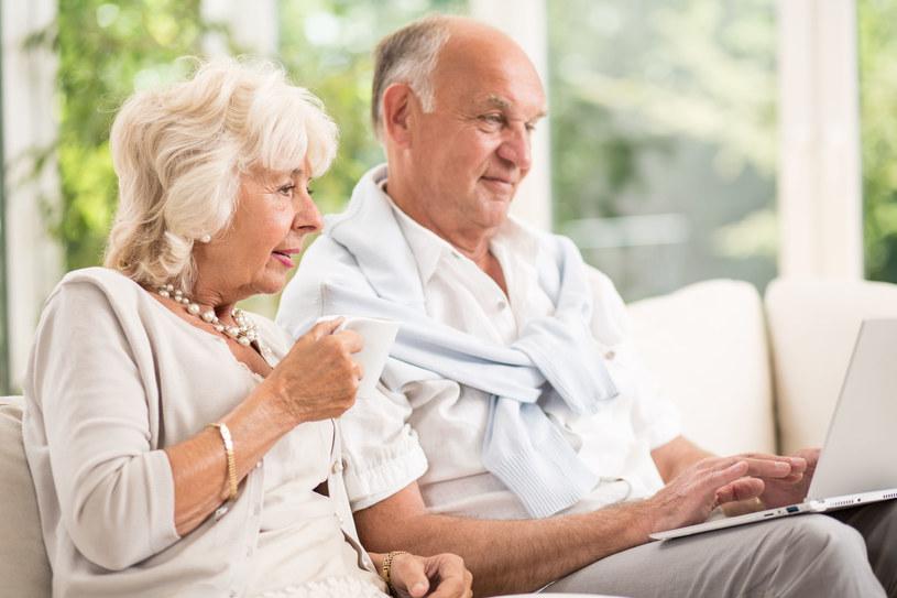 Seniorzy stanowią w tej chwili prawie 11 proc. wszystkich polskich internautów /123RF/PICSEL /123RF/PICSEL