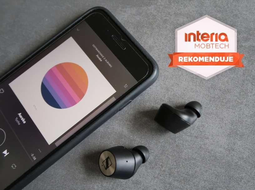 Sennheiser Momentum True Wireless otrzymują REKOMENDACJĘ serwisu Nowe Technologie Interia /INTERIA.PL
