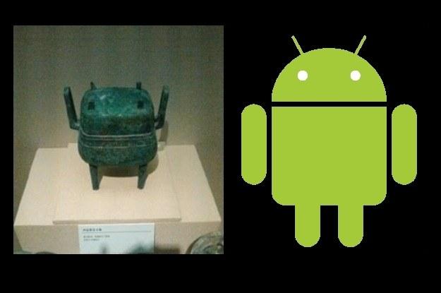 Sensacja - Android pojawił się już w starożytnych Chinach (fot. po lewej z micgadget) /Internet