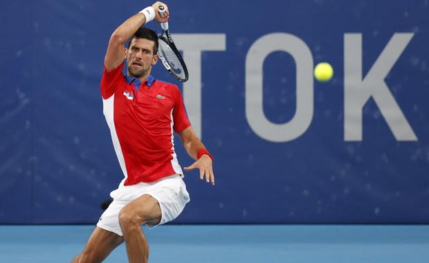 Sensacja na igrzyskach w Tokio. Novak Djokovic odpadł w półfinale turnieju tenisa