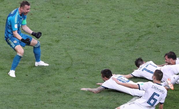 Sensacja na Łużnikach! Rosja wygrywa z Hiszpanią po rzutach karnych!
