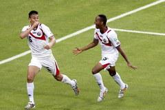 Sensacyjne zwycięstwo piłkarzy z Kostaryki