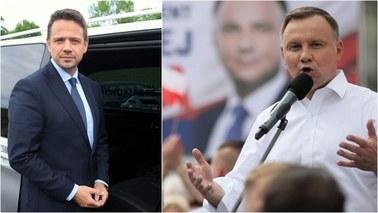 Sensacyjny sondaż prezydencki: Andrzej Duda i Rafał Trzaskowski z identycznym poparciem w II turze wyborów!