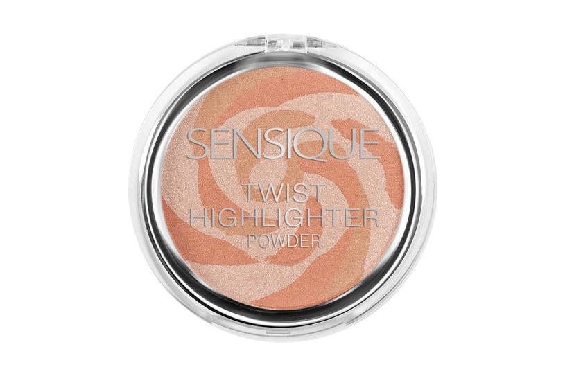 Sensique Twist Highlighter Powder /Styl.pl/materiały prasowe