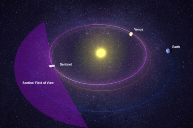 Sentinel będzie chronił Ziemię przed zabłąkanymi asteroidami /materiały prasowe