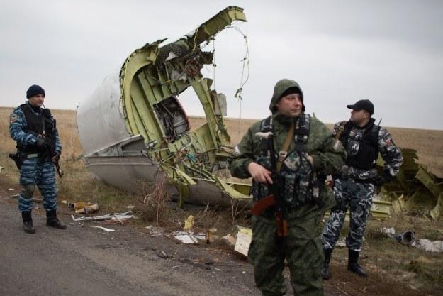 Separatyści bronią dostępu do wraku Boeinga /AFP