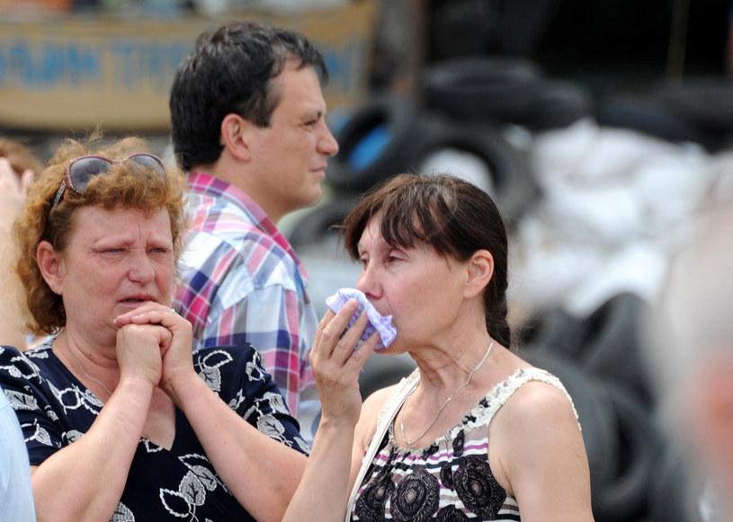 Separatyści chcą zaangażować do walk kobiety /AFP