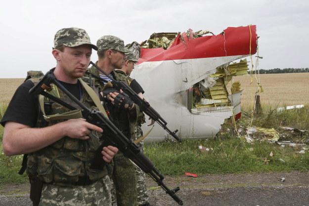 Separatyści utrudniają dostęp do wraku zestrzelonego boeinga