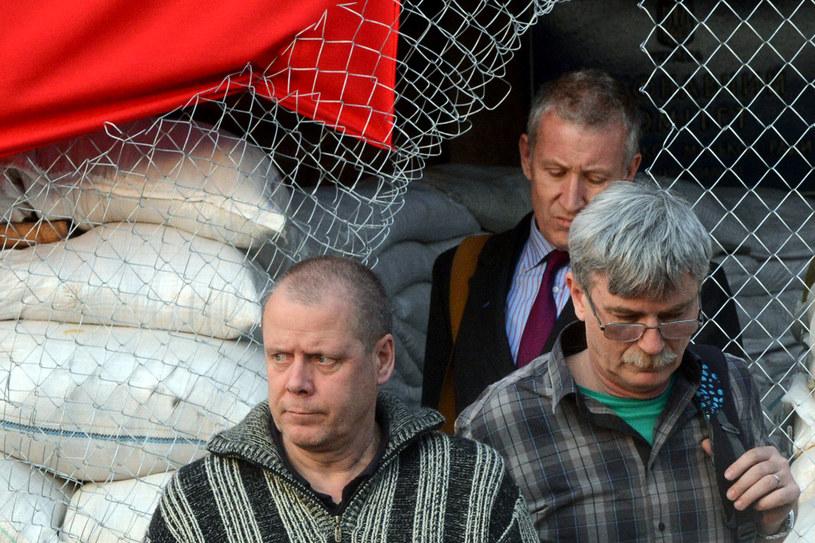 Separatyści uwolnili obserwatorów OBWE /AFP