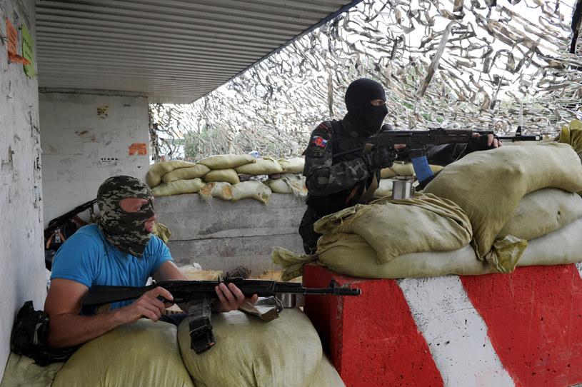 Separatyści w Doniecku /AFP