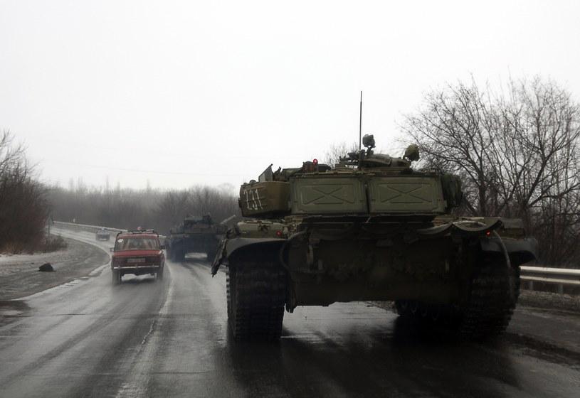 Separatyści w drodze do Doniecka /AFP