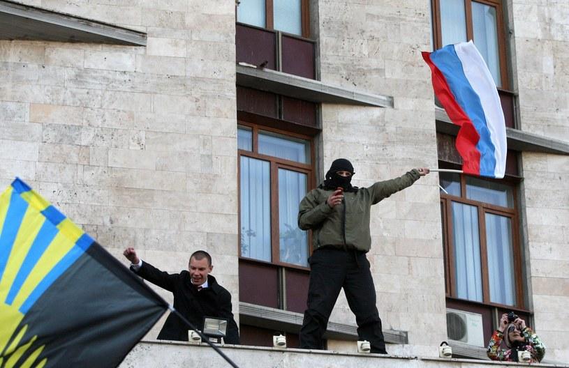 Separatyści wdarli się do administracji obwodowej w Doniecku /AFP