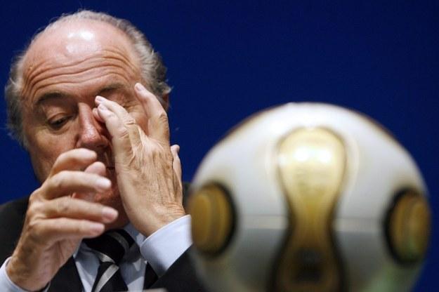 Sepp Blatter /PAP/EPA/ALESSANDRO DELLA BELLA /PAP/EPA